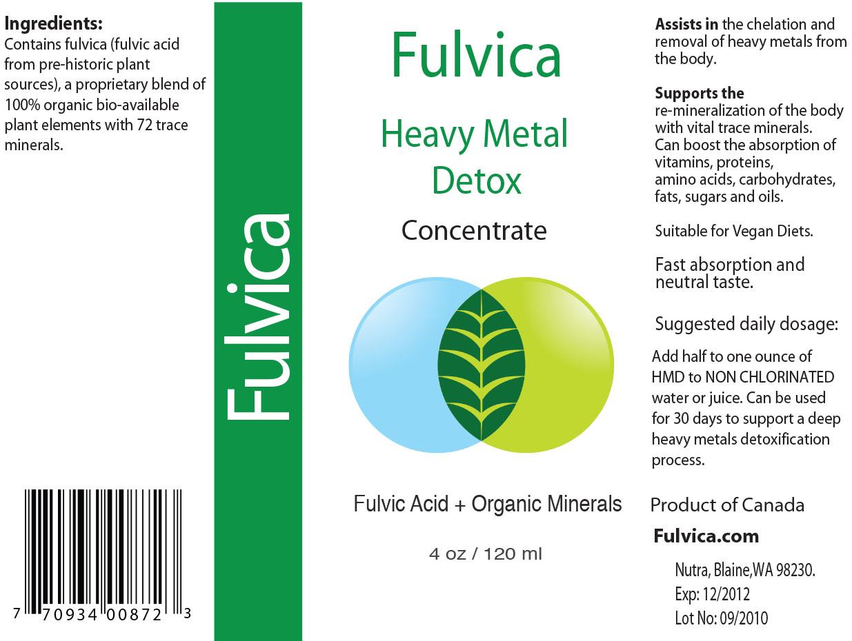 Heavy Metal Detox   GEOMATRIX: Global Health Project